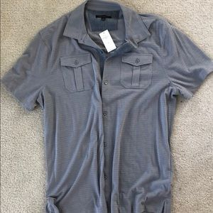 Banana Republic men's short sleeve shirt XL